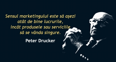 Sensul marketingului Peter Drucker
