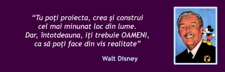 Walt Disney despre marketing experiential